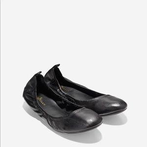 Cole Haan Women's Jenni Black Ballet Flats size 9